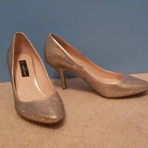 Glitter Silver/ Gold Pumps